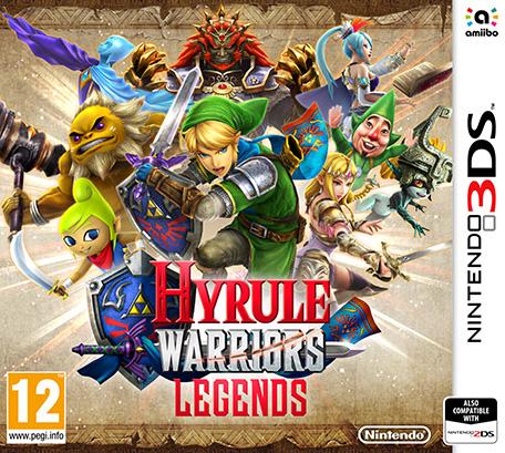 Nintendo Hyrule Warriors: Legends, 3DS