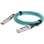 "AddOn Networks MFS1S00-H001E-AO InfiniBand cable 39.4"" (1 m) QSFP56 Aqua color"