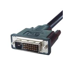 DP Building Systems 26-1652 2m DVI-D DVI-D Black DVI cable