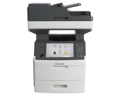 Lexmark MX711de 1200 x 1200DPI Laser A4 66ppm Black,Grey multifunctional