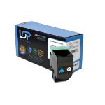 Click, Save & Print Remanufactured Lexmark C540H1CG Cyan Toner Cartridge