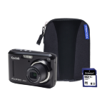 Kodak PIXPRO FZ43 Black Camera Kit inc 8GB SDHC Card and Case
