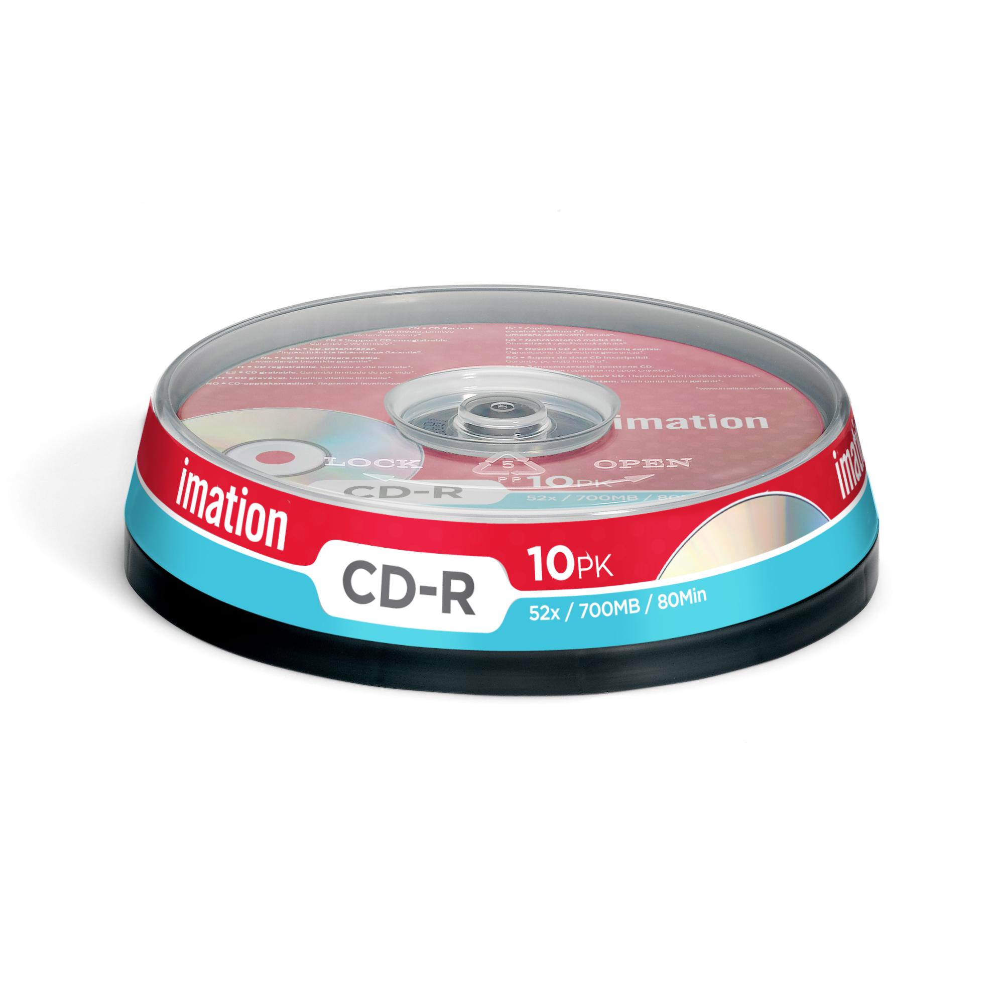Imation 10 x CD-R 700MB CD-R 700MB 10pc(s)