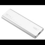Siig JU-SA0W11-S1 M.2 SSD enclosure Silver