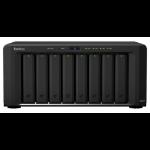 Synology DiskStation DS1817 data-opslag-server NAS Desktop Ethernet LAN Zwart Alpine AL-314