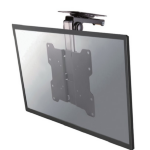 "Newstar FPMA-C020BLACK 40"" Black flat panel ceiling mount"