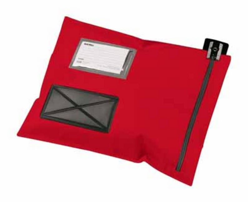 Versapak Flat Mail Pouch Small Red