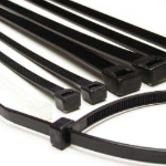FDL 140mm CABLE TIES (100) - BLACK