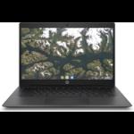"HP Chromebook 14 G6 35.6 cm (14"") 1920 x 1080 pixels Touchscreen Intel® Celeron® 8 GB LPDDR4-SDRAM 64 GB eMMC Wi-Fi 5 (802.11ac) Chrome OS Black"