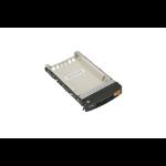 Supermicro MCP-220-00127-0B drive bay panel Storage drive tray Black, White