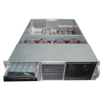 TGC Rack Mountable Server Chassis 3U 650mm Depth with 14x3.5' HDD cages and ATX PSU Window - no PSU