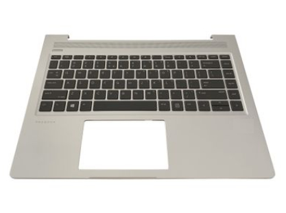 HP L44589-DH1 notebook spare part Housing base + keyboard