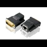 Aten VE066 AV extender Black