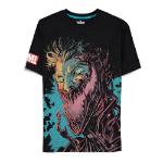 Marvel Venom Graphic Print T-Shirt, Male, Medium, Black (TS855447SPN-M)