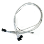 Microsemi ADAPTEC I-HDMSAS-4SATA-SB.8M 0.8m 6Gbit/s