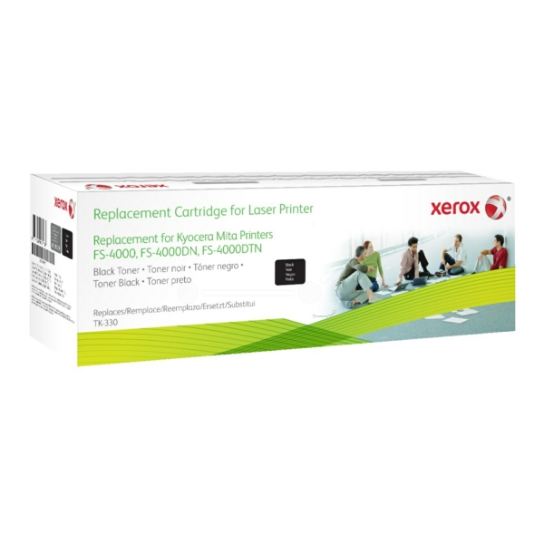 Xerox 003R99776 compatible Toner black, 20K pages @ 5 coverage, Pack qty 1 replaces Kyocera TK-330 TK-332