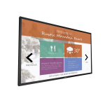 Philips Signage Solutions Multi-Touch Display 43BDL4051T/00 public display