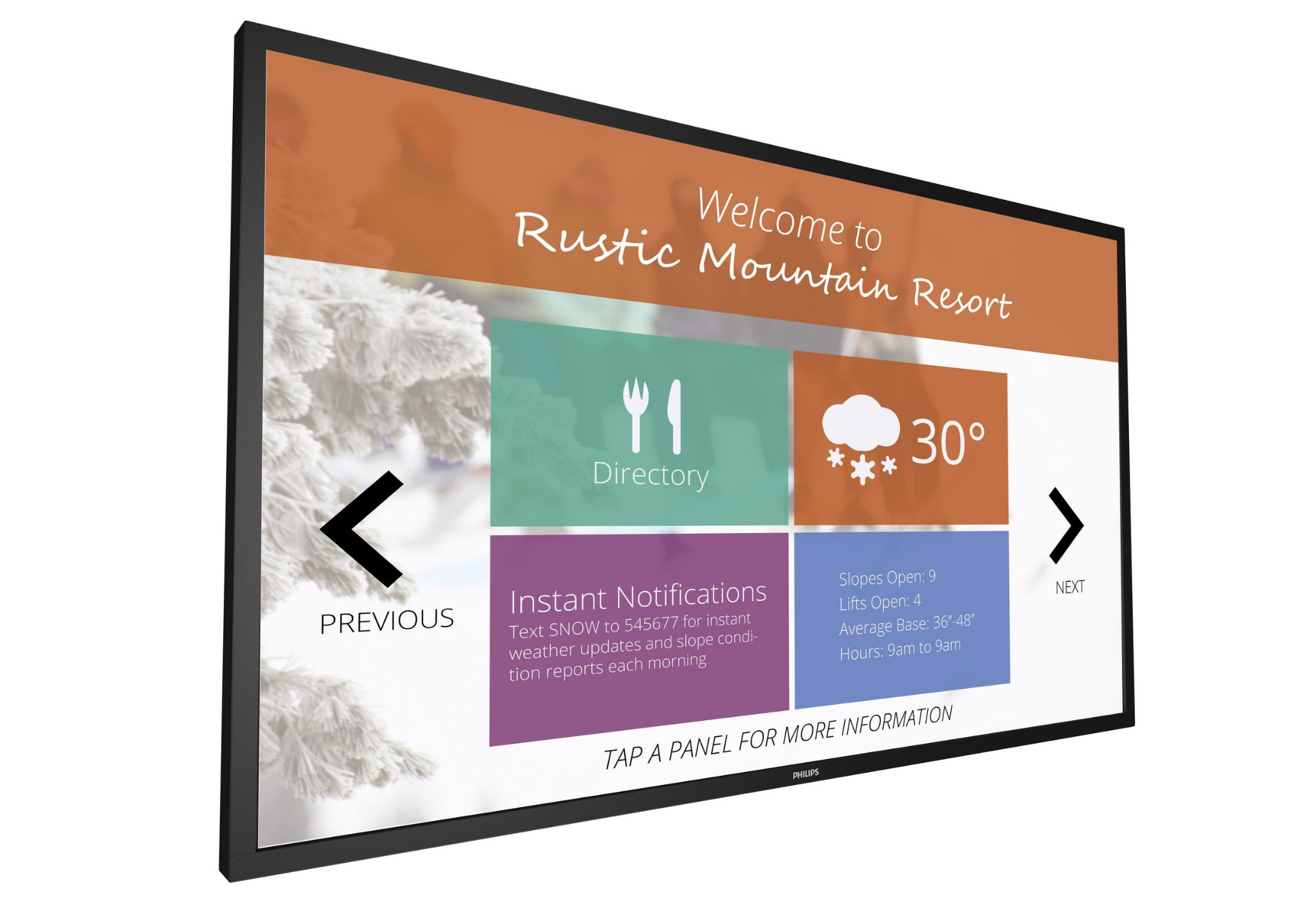 Philips Signage Solutions Multi-Touch Display 43BDL4051T/00