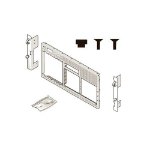 DELL 770-BCOL computer case part Rack Tower to rack conversion kit
