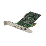 StarTech.com Tarjeta PCI Express Capturadora de Vídeo HDMI, VGA, DVI o Vídeo por Componentes 1080p 60Hz - Capturadora Interna de Vídeo