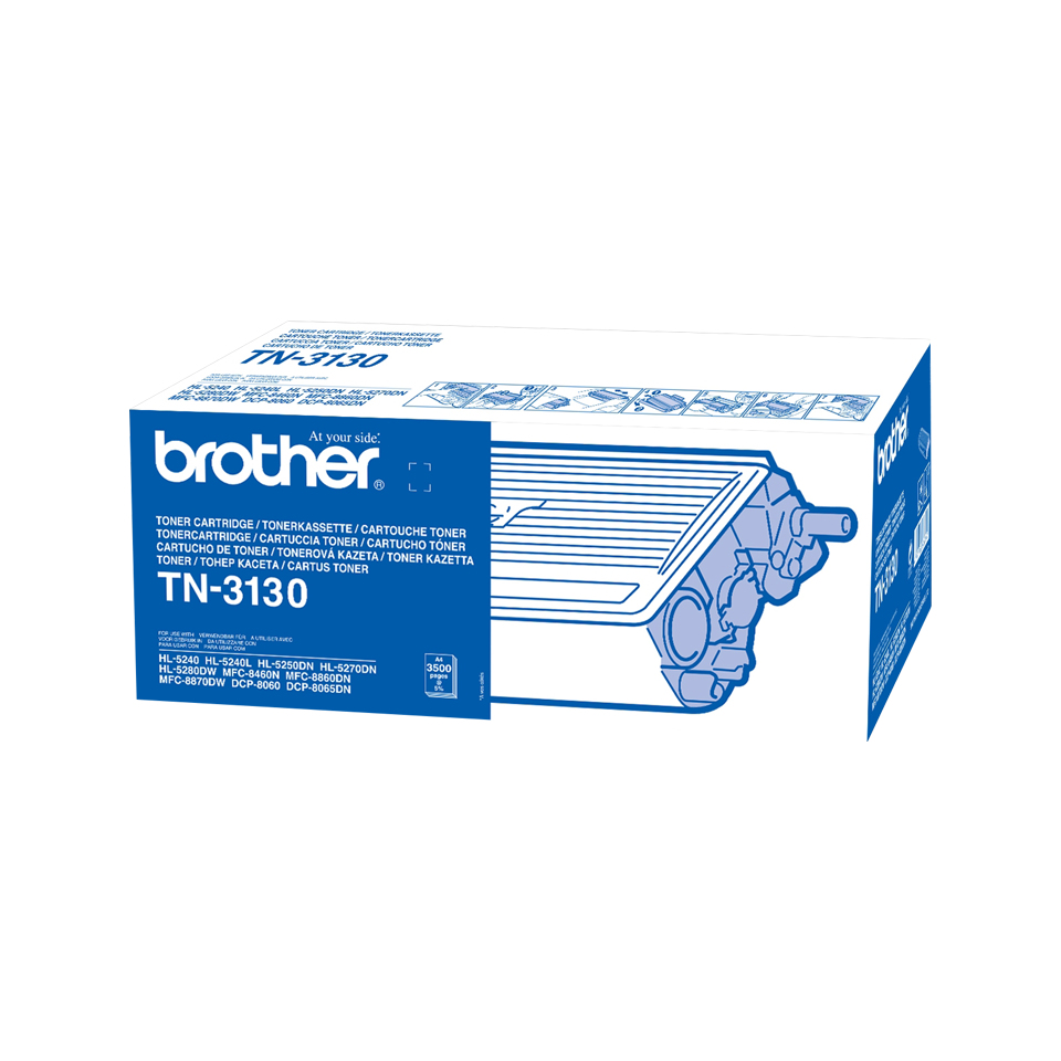 Brother TN-3130 Toner black, 3.5K pages @ 5% coverage