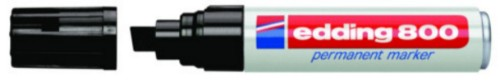 Edding 800 Black permanent marker