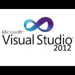 Microsoft Visual Studio Premium 2012, w/MSDN, RNW, ENG