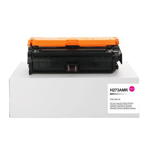 Remanufactured HP CE273A (650A) Magenta Toner Cartridge