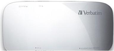 Verbatim USB 3.0 Universal Card Reader USB 3.0 Silver card reader