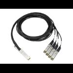 HPE 845416-B21 - 100Gb QSFP28 to 4x25Gb SFP28 3m DAC