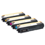 V7 Toner for select Brother printers - Replaces TN325BK/C/M/Y V7-TN325-HY-4-OV7