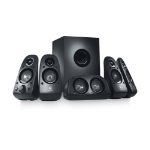 Logitech Z506 speaker set 5.1 channels 75 W Black