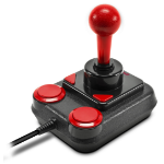 SPEEDLINK Competition Pro Extra Joystick Android,PC Analogue USB 1.1 Black,Red