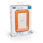 Seagate Rugged Mini external hard drive 2000 GB Orange, Silver