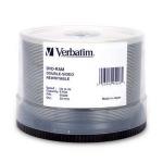 Verbatim DVD-RAM 3x Double Sided, 50pk 9.4GB 50pc(s)