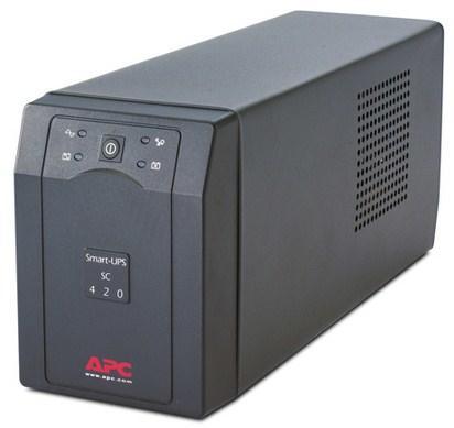 APC Smart-UPS uninterruptible power supply (UPS) Line-Interactive 420 VA 260 W 4 AC outlet(s)