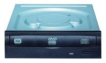 Lite-On IHAS324 Internal DVD Super Multi DL Black optical disc drive
