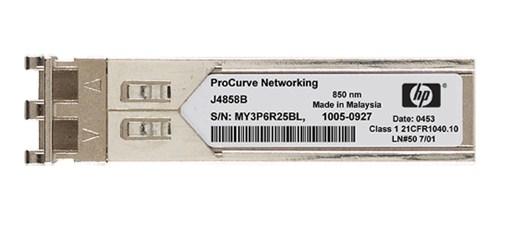 Hewlett Packard Enterprise X121 1G SFP LC SX Transceiver network media converter