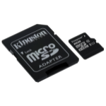 Kingston Technology microSDHC Class 10 UHS-I Card 8GB 8GB MicroSDHC UHS-I Class 10 memory card