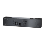 APC Service Bypass PDU, 230V 16AMP Hardwire Black power distribution unit (PDU)