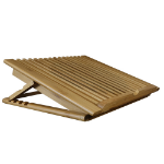 MacAlly Bamboo Cooling Stand XL Fan