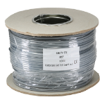 Cablenet RG179 75Ohm Stranded LSOH CPR Eca Coax Cable Grey 100m Reel