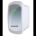 Diamond Multimedia WR600NSI Network repeater White