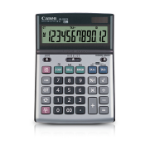 Canon BS-1200TS Desktop Financial calculator Black,Grey