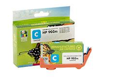 Refilled HP 903XL Cyan Ink Cartridge