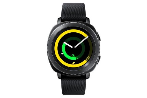 "Samsung Gear Sport 1.2"" SAMOLED GPS (satellite) Black smartwatch"