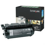 Lexmark 12A7462 Toner black, 21K pages