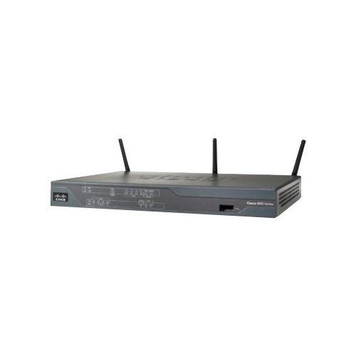 Cisco 886 VDSL/ADSL over ISDN Multi-mode Router - Router - ISDN/DSL - 4-port switch - 802.11b/g/n (draft 2