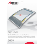 Rexel Outdoor UV Sign Covers A4 (10)