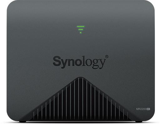 Synology MR2200AC draadloze router Dual-band (2.4 GHz / 5 GHz) Gigabit Ethernet 3G 4G Zwart